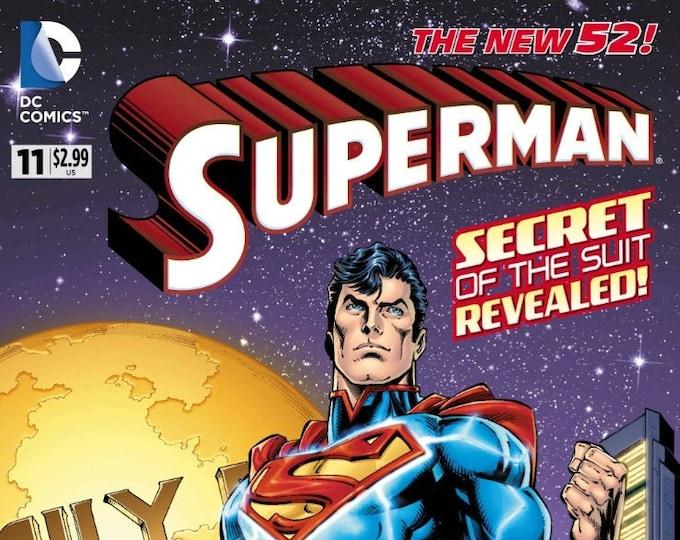 Superman #11 Cover A September 2012 DC Comics Grade NM