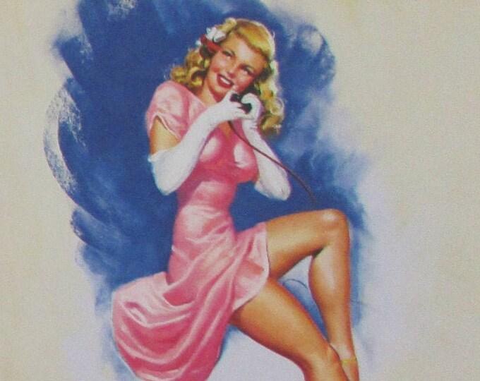 Vintage Pin-Up Art  Bundle  Feat. MacPherson, Bolles, and Moran