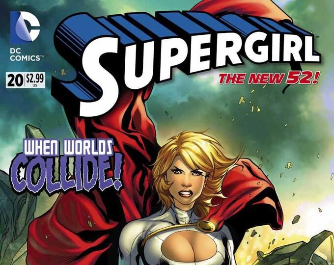 Supergirl #20 July 2013 DC Comics Grade NM