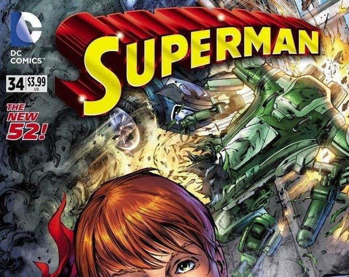 Superman #34 Selfie Variant Cover October 2014 DC Comics Grade NM