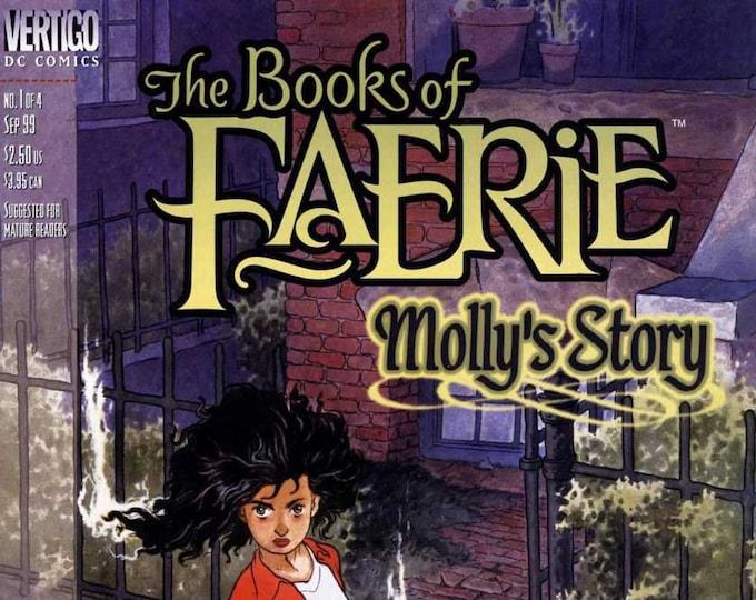 The Books of Faerie Molly's Story #1 September 1999 DC/Vertigo Comics Grade Fine
