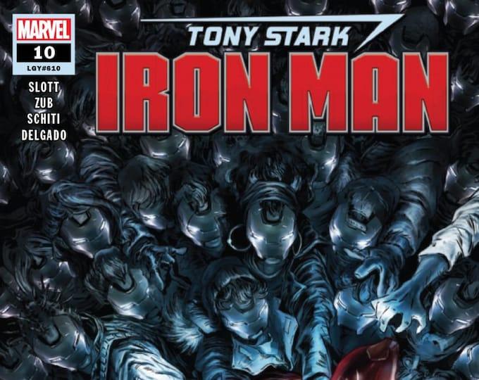 Tony Stark Iron Man #10 (The Impossible Armor) June Issue Marvel Comics  Grade NM