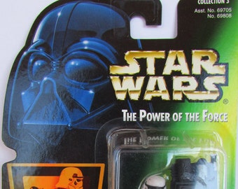 Sandtrooper   Star Wars Power of the Force Green Card   Action Figure