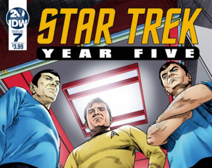 Star Trek Year Five #7 October Issue IDW Publishing Grade NM