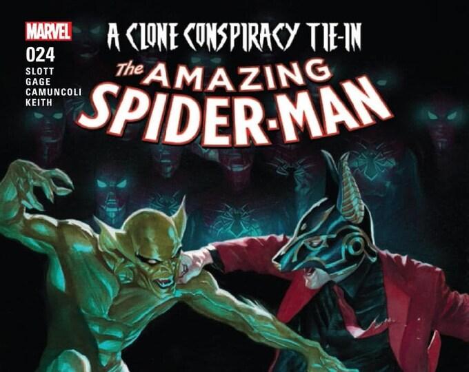 Amazing Spider-Man #24 Cover A April 2017 Marvel Comics Grade NM