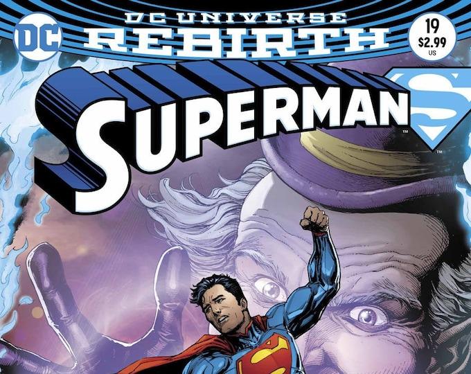 Superman #19 Cover B (Superman Reborn!) May 2017 DC Comics Grade NM