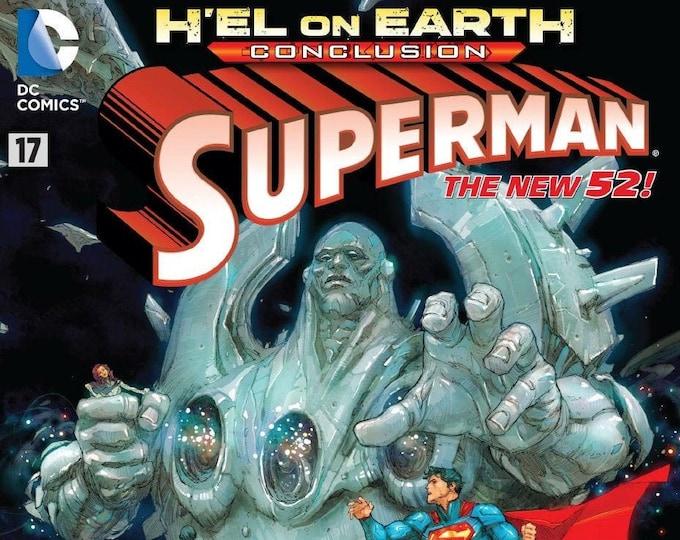 Superman #17 April 2013 DC Comics Grade NM
