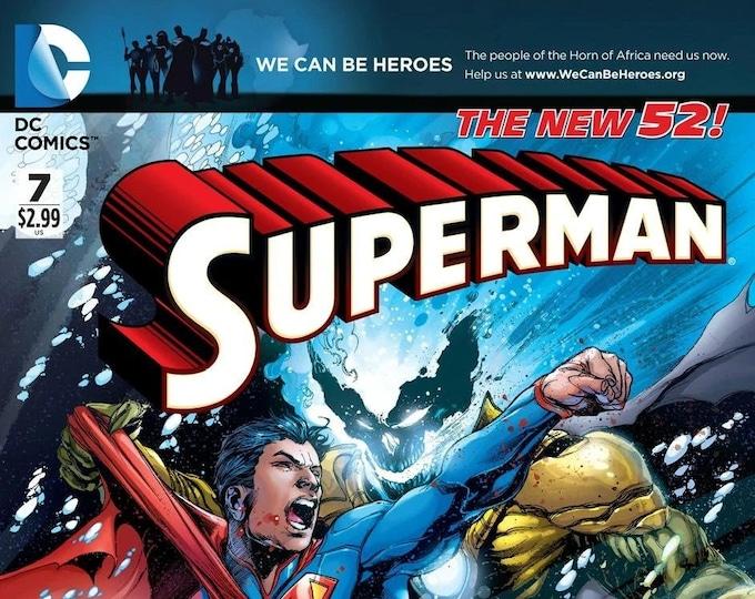 Superman #7 Cover A May 2012 DC Comics Grade NM