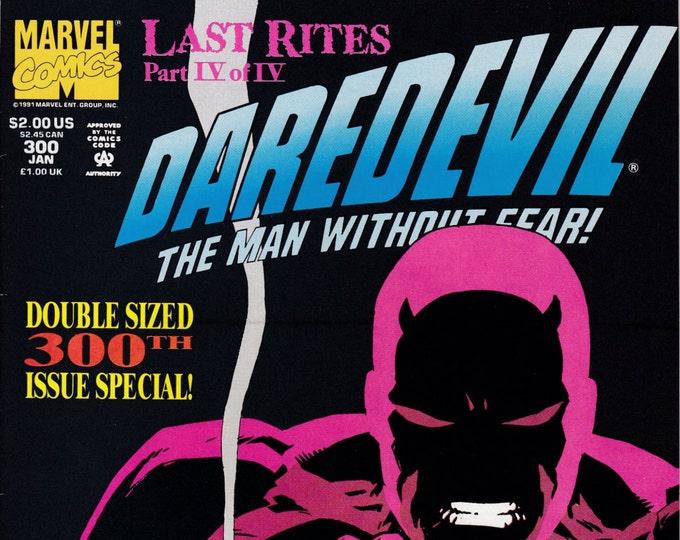 Daredevil #300  January 1992  Marvel Comics  Grade NM