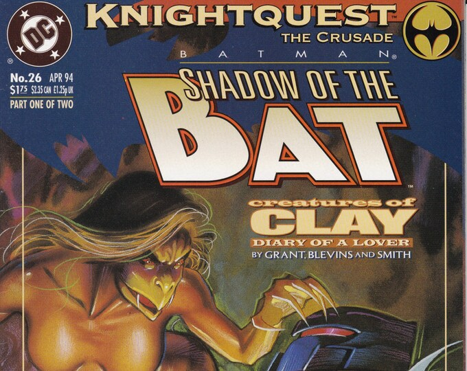 Batman Shadow of the Bat #26 (1st Series 1992) April 1994  DC Comics  Grade NM