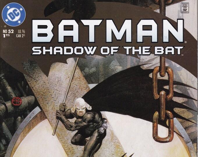 Batman Shadow of the Bat #52    July 1996    DC Comics   Grade NM
