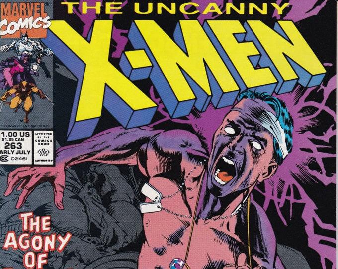 Uncanny X-Men #263 (1st Series 1963) July 1990  Marvel Comics   Grade NM