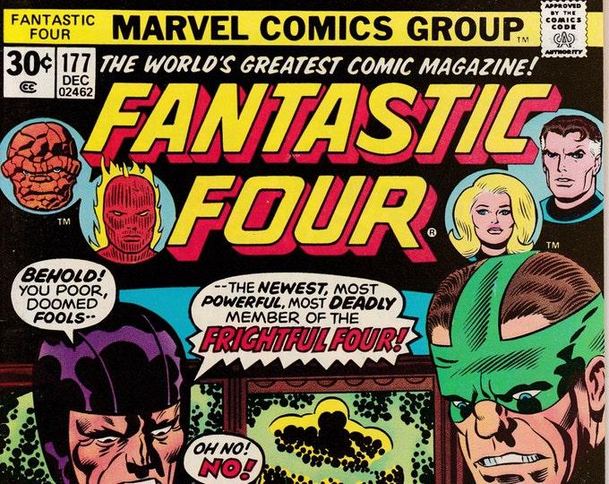 Fantastic Four #177  December 1976  Marvel Comics  Grade VF/NM