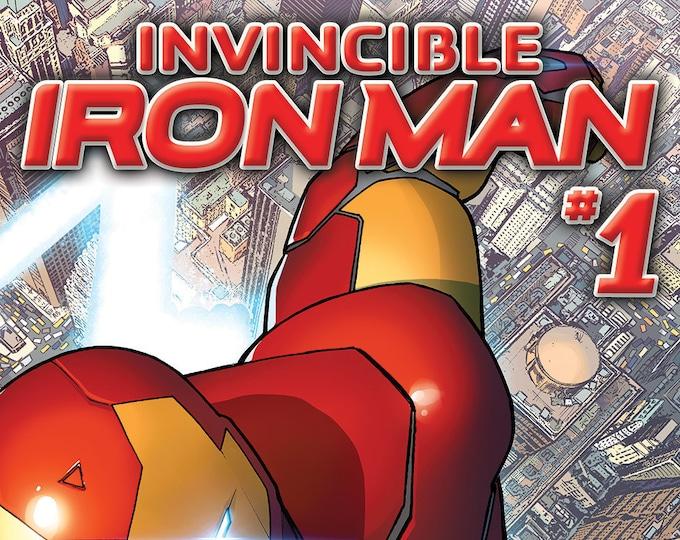 Invincible Iron Man #1 December Issue Marvel Comics  Grade NM