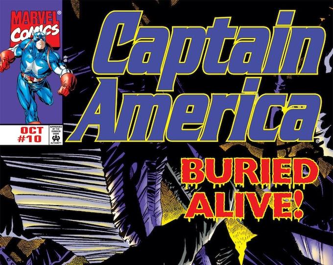 Captain America #10 October 1998  Marvel Comics  Grade NM