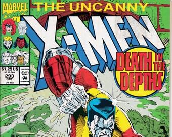Uncanny X-Men #293  October 1992  Marvel Comics  Grade Fine
