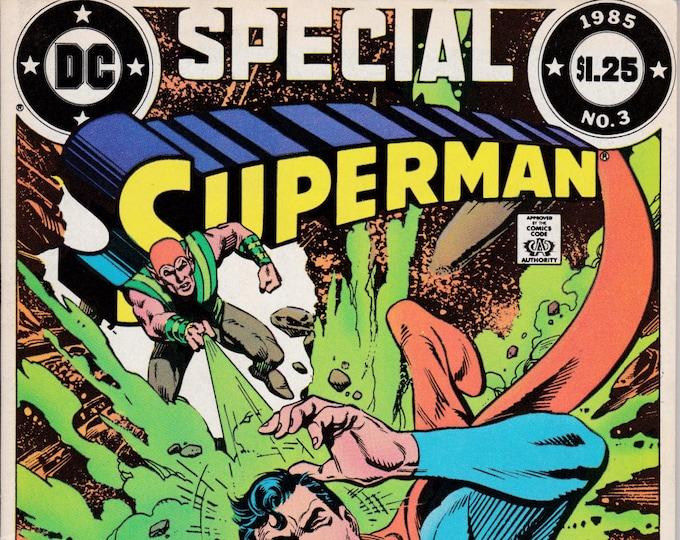 Superman Special #3   1985   DC Comics  Grade Fine