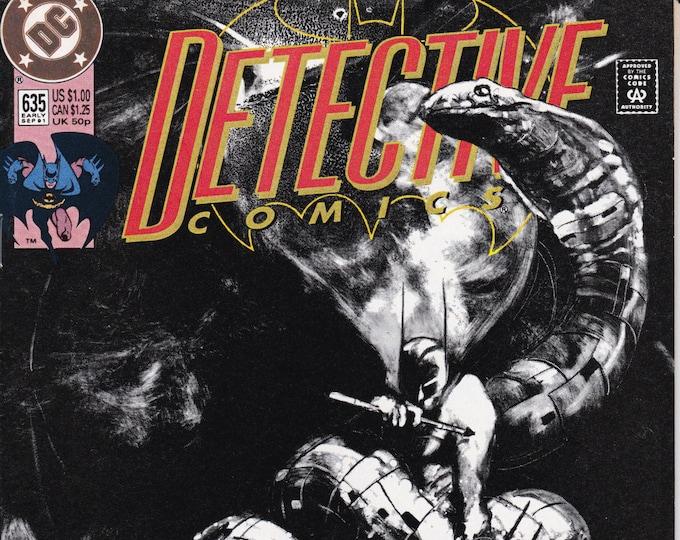 Detective Comics #635   September 1991     DC Comics   Grade NM
