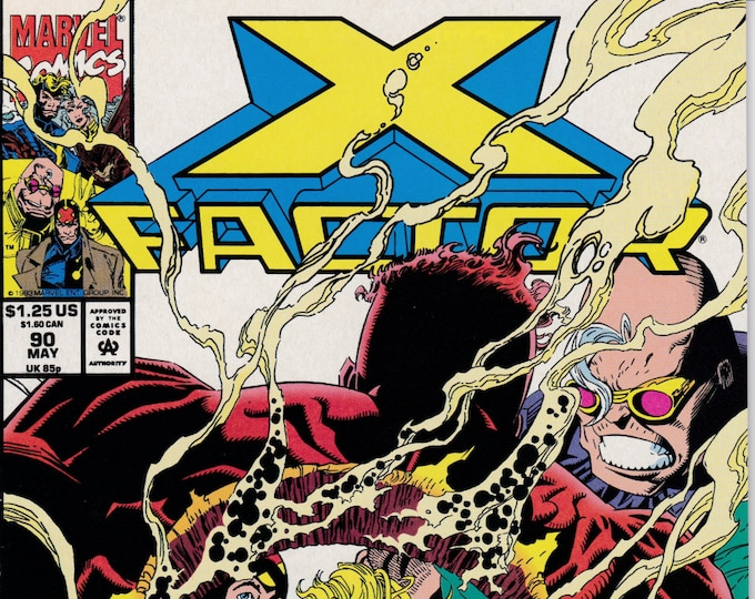 X-Factor #90  May 1993  Marvel Comics  Grade NM