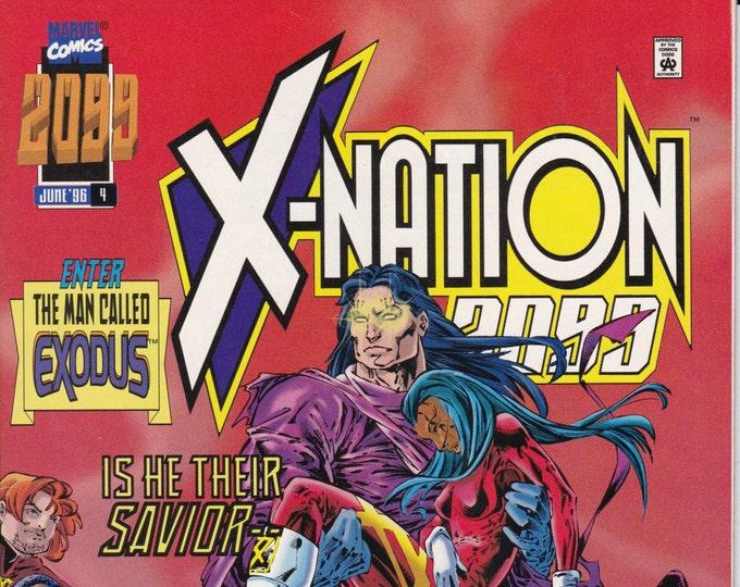 X-Nation 2099 #4  June  Marvel Comics  Grade NM