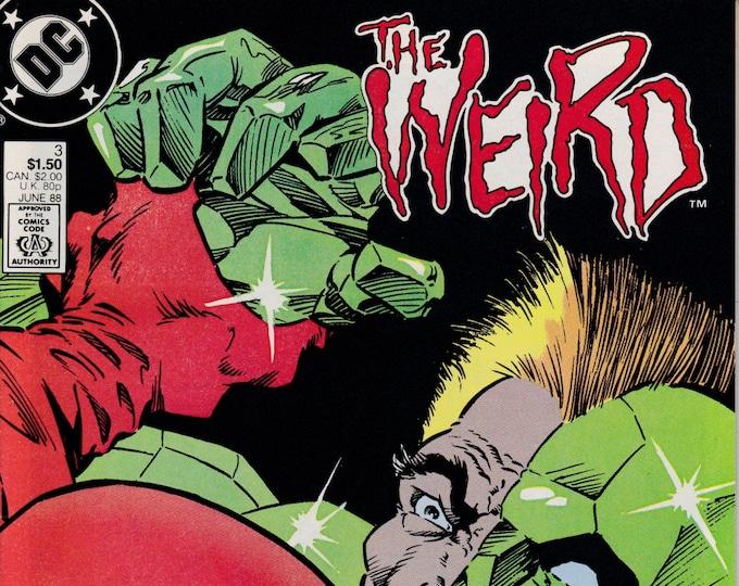 The Weird #3   June 1988    DC Comics    Grade NM  *Bernie Wrightson Cover*