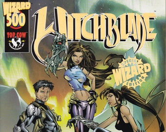 Witchblade #500BY  Limited Wizard Gold Edition   Top Cow Comics   Grade VF/NM