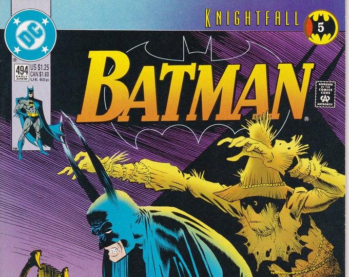 Batman #494    June 1993   DC Comics   Grade NM