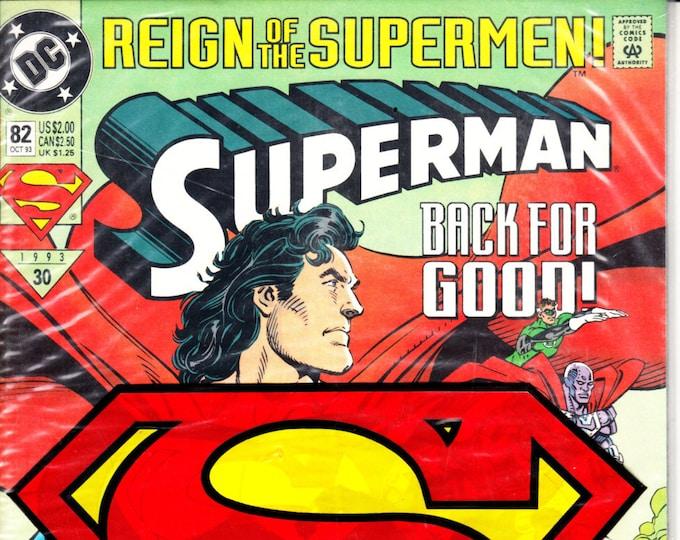 Superman #82P (2nd Series 1987) October 1993   DC Comics   Grade NM