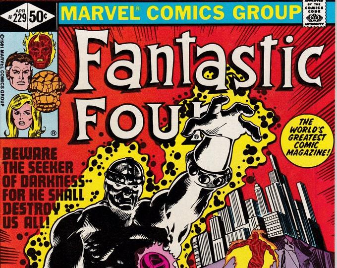Fantastic Four #229  April 1981   Marvel Comics  Grade NM