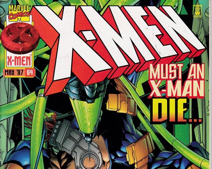 X-Men #64  May 1997   Marvel Comics  Grade NM
