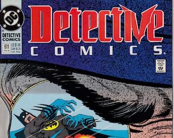 Detective Comics #611  - February 1990 Issue - DC Comics - Grade NM