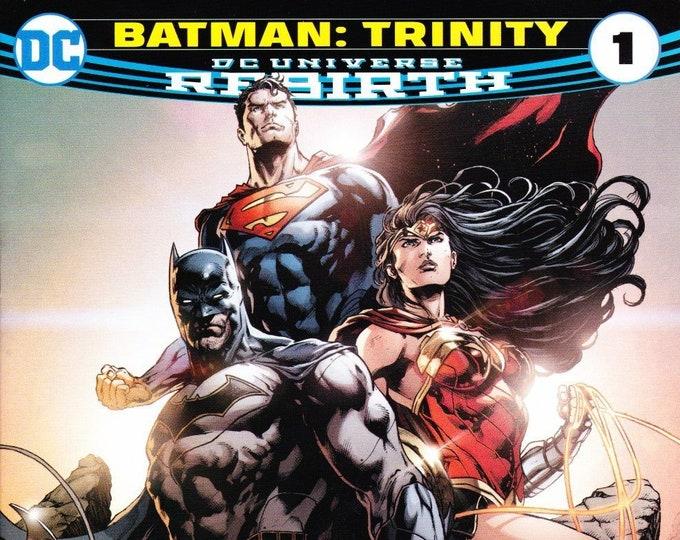 Trinity #1 Walmart Exclusive Batman Variant Cover DC Rebirth November 2016 DC Comics  Grade NM