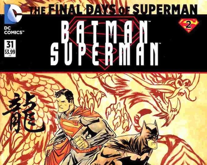 Batman Superman #31 Second Printing July 2016 DC Comics Grade NM