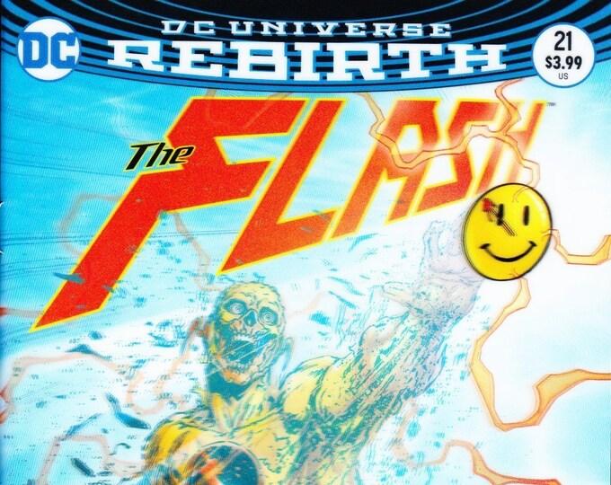 Flash #21 Lenticular Variant Edition June 2017 DC Comics Grade NM