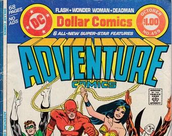 Adventure Comics #459 - September 1978 Issue - DC Comics - Grade VG