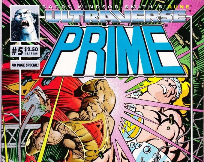 Prime #5 (1993 1st Series)  October 1993    Malibu Comics    Grade NM