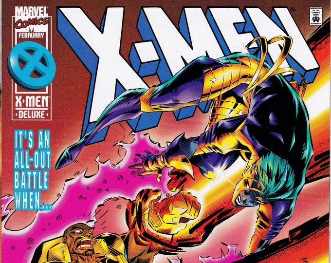 X-Men #49  February 1996   Marvel Comics   Grade NM