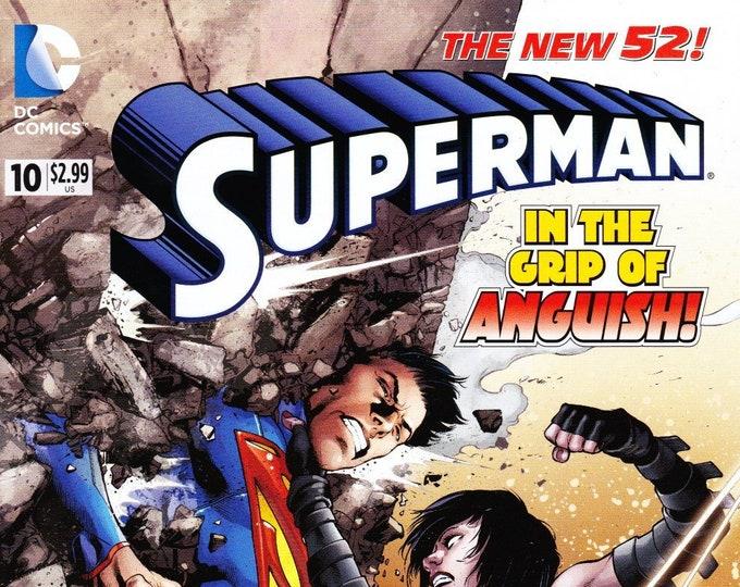 Superman #10 August 2012 DC Comics Grade NM