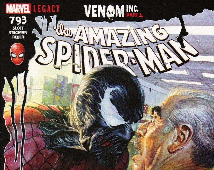 Amazing Spider-Man #793 Legacy Cover A February Issue Marvel Comics  Grade NM