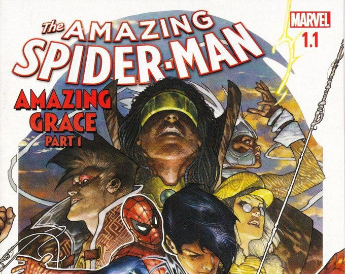Amazing Spider-Man #1.1 Cover A  February Issue Marvel Comics Grade NM