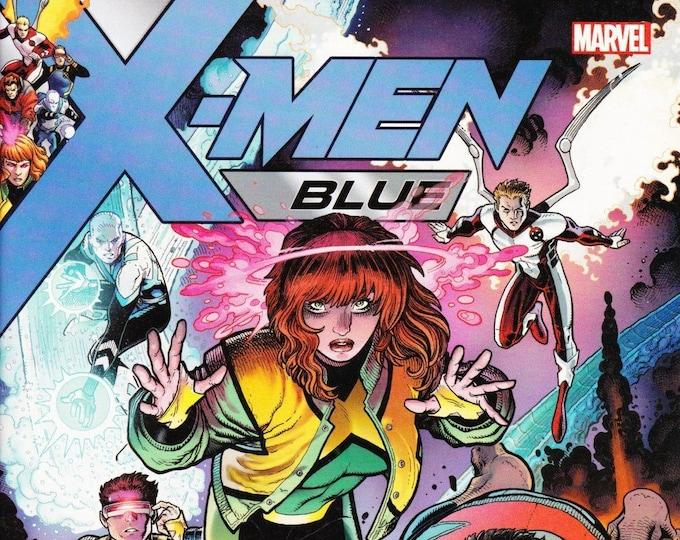 X-Men Blue #001   Walmart Exclusive  Variant   June 2017   Marvel Comics  Grade NM