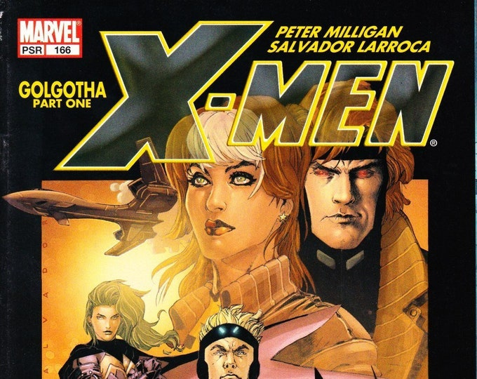 X-Men #166 March Issue Marvel Comics Grade VF