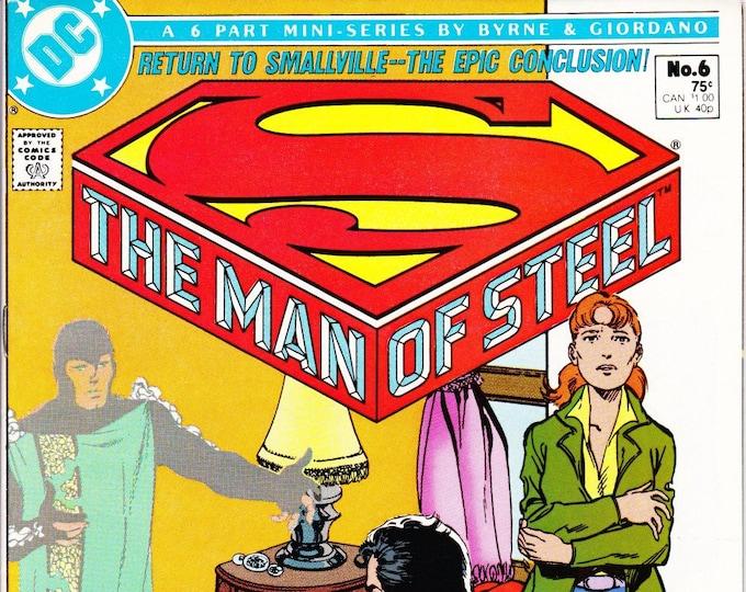 The Man of Steel #6 December 1986  DC Comics  Grade NM
