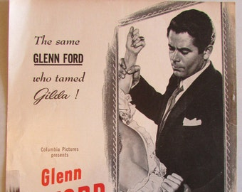 Framed   1947  One Page Movie Advertisement
