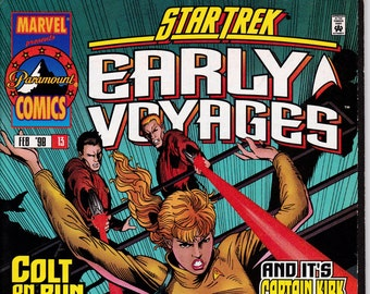 Star Trek The Early Voyages #13, February 1998 Issue - Marvel Comics - Grade Fine
