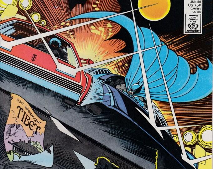 Detective Comics #601 (1st Series 1937) June 1989   DC Comics  Grade NM