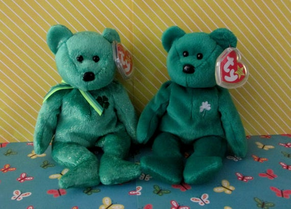 Dublin and Erin Retired TY Beanie Babies W  Both Tags and  994f7b92e6f1