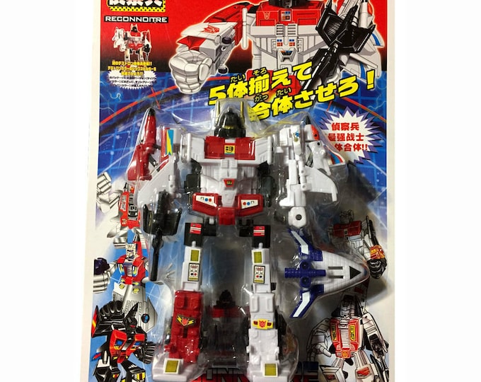 Japanese Transforming Robot Reconnoitre Polyfect Toys  *MIP*
