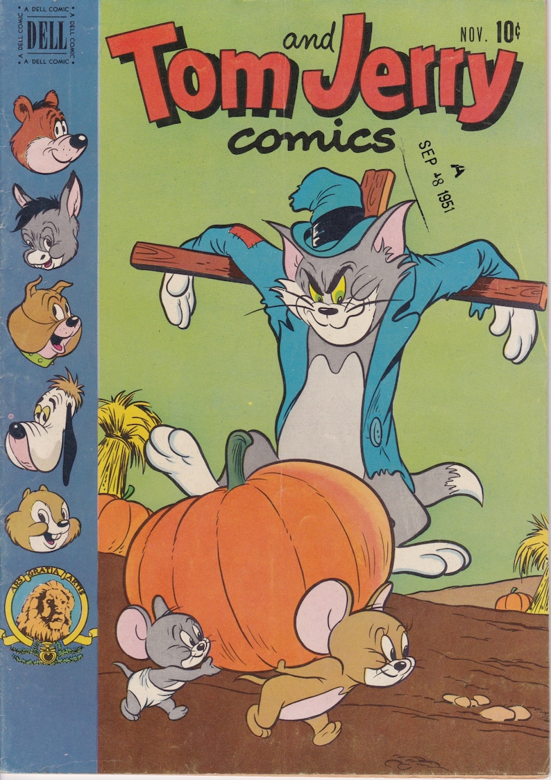 Tom And Jerry Comic Book