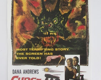 Curse of the Demon (11x16)  Movie Poster